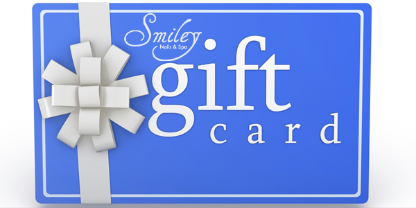 Smiley Nails Spa Gift Card