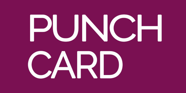 Nail Care Punch Card: Rewards System - Punch Card