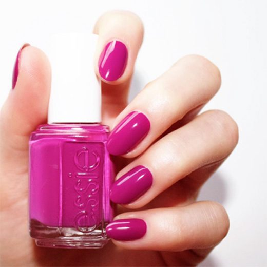 Essie nail polish is used at Smiley Nails & Spa